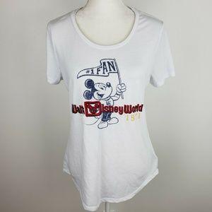Disney Parks Authentic Disney World Tee Shirt